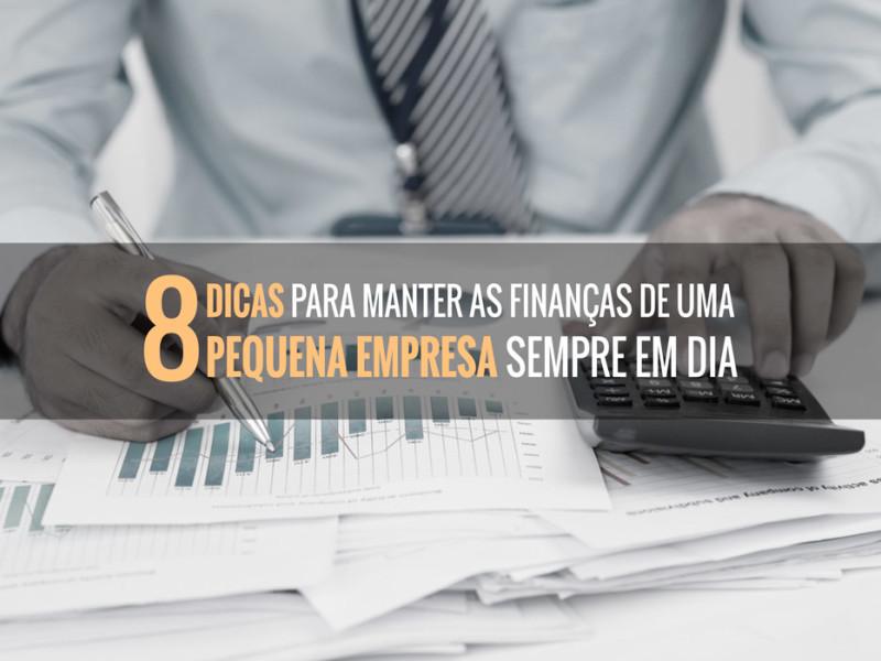 finanças de sua pequena empresa