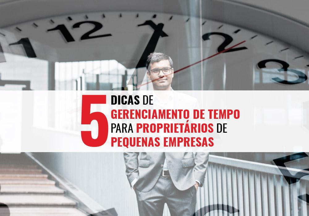 gerenciamento de tempo para proprietários de pequenas empresas